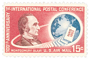 1963 15c 1st Internl Post Conf