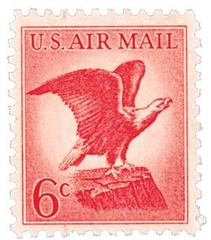 1963 6c Bald Eagle