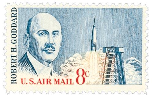 1964 8c Robert H Goddard