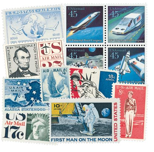 1926-2001 Giant US Airmail Collection