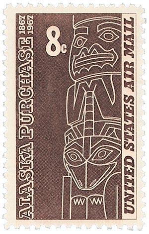 1967 8c Alaska Purchase