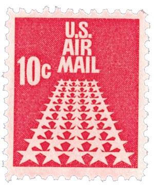 1968 10c 50 Stars