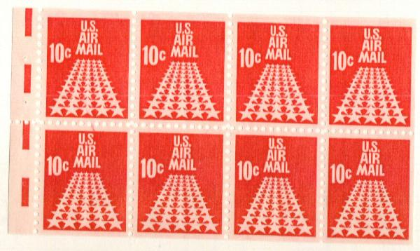 1968 Commemorative 10c BP of 8