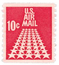 1968 10c 50 Stars Coil