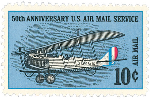 1968 10c 50th Anniv Air Mail