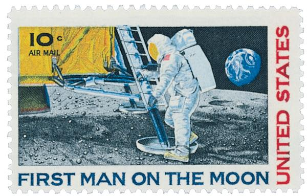 1969 10c Moon Landing