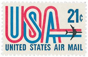 """1971 21c """"USA"""""""