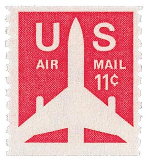 1971 11c Jet Airliner Coil For Sale At Mystic Stamp Company