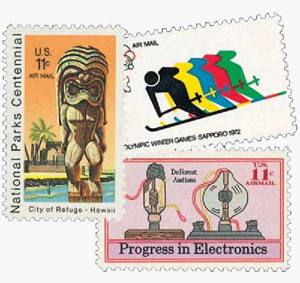 1972-73 Commemoratives 3V
