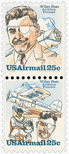 1979 25c Wiley Post