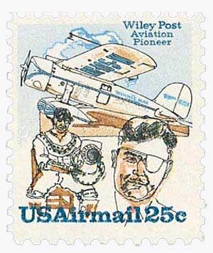 1979 25c Wiley Post w/Plane