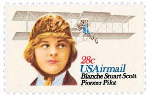 1980 28c Blanche S Scott