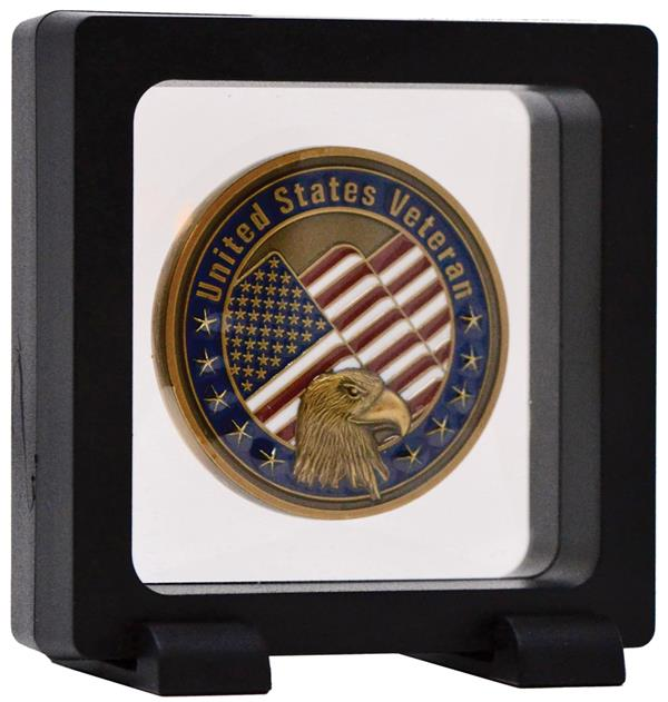 "Lighthouse 2 3/4"" x 2 3/4"" x 3/4"" Floating Display Frame"