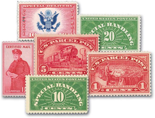 US Special Service Stamps Introductory Offer