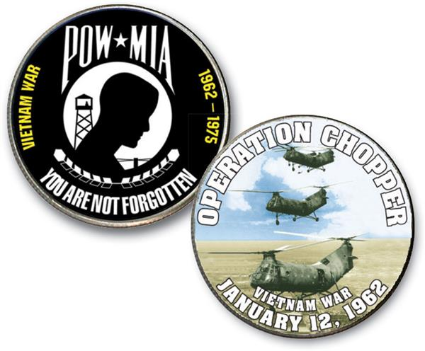 Vietnam War Coin Collection Introductory Offer