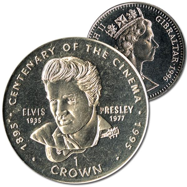 1996 Centenary Cinema Elvis Crown