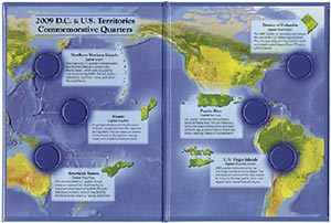 DC & US Territories Quarter Folder