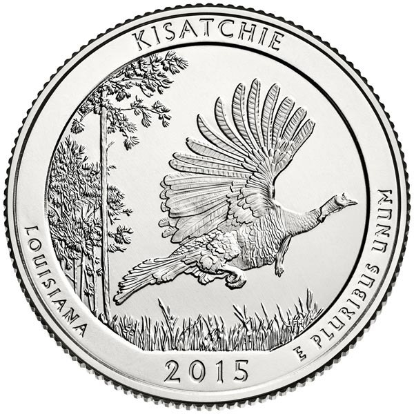 2015 Kisatchie National Forest P Mint Quarter