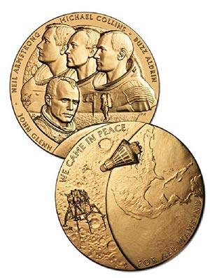 """New Frontiers 1.5"""" Bronze Medal"""
