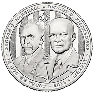 2013 5 Star Generals Proof Silver Dollar