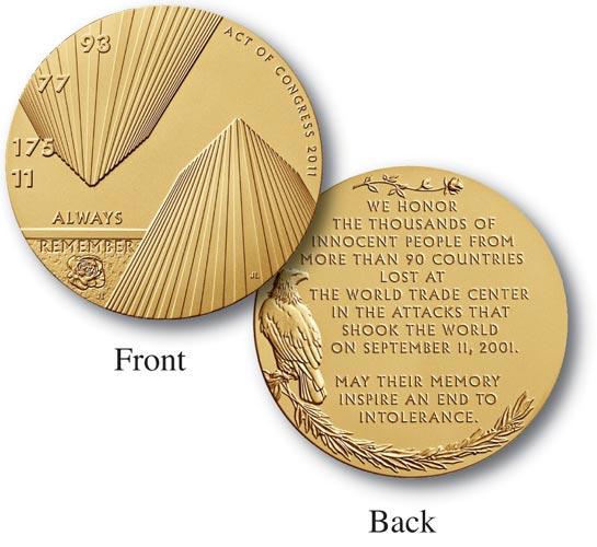 "Fallen Heroes of NY 1.5"" Bronze Medal"