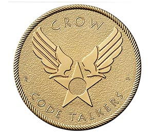 "Crow Nation Code Talkers 1.5"" Bronze"