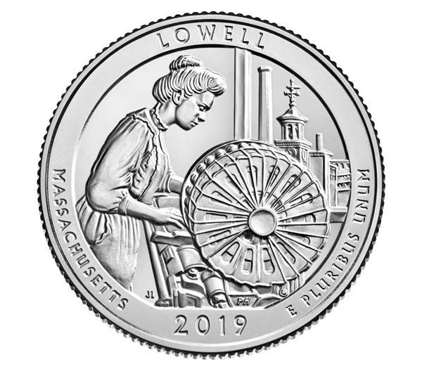 2019 Lowell National Park D Mint Quarter