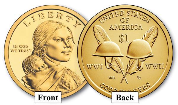2016 Native American $1.00 P Mint