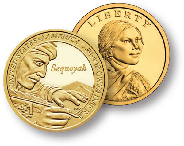 2017 Native American $1.00 P Mint