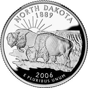 2006 North Dakota, P Mint