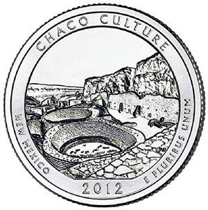 2012 Chaco Culture Natl.Hist. Park Qtr.