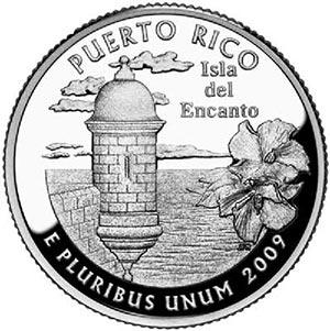 2009 Puerto Rico Quarter, P Mint
