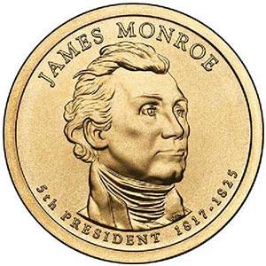 2008 $1.00 President J. Monroe, P Mint