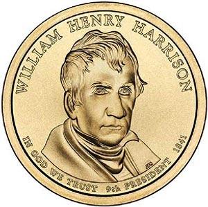 2009 $1.00 President William H. Harrison