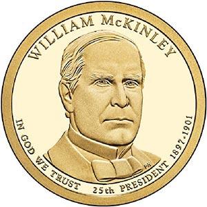 2013 $1.00 President William McKinley D