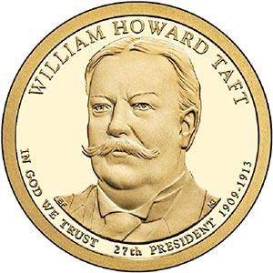 2013 $1.00 President William Taft