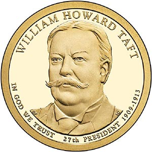 2013 $1.00 President William Taft