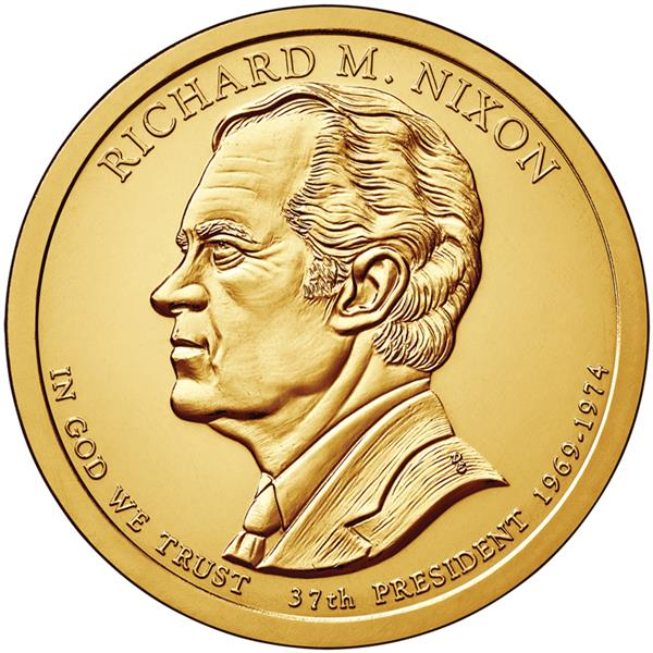 2016 $1.00 President Richard Nixon