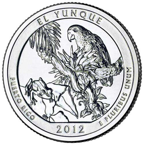 2012 El Youque National Forest Qtr. P