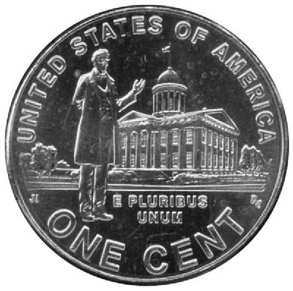 2009 1c Lincolns Profesional Life D Mint