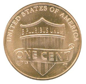 2010 1c Lincoln Penny, P Mint