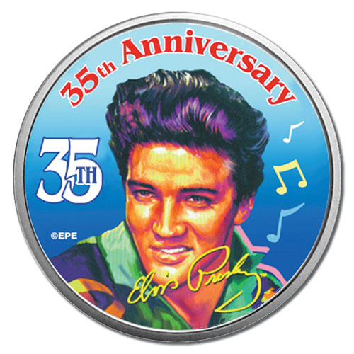 Elvis 35th Anniversary 1/2 Dollar