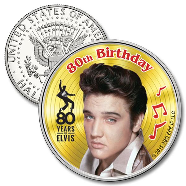 Elvis 80th B-day (Gold Record)