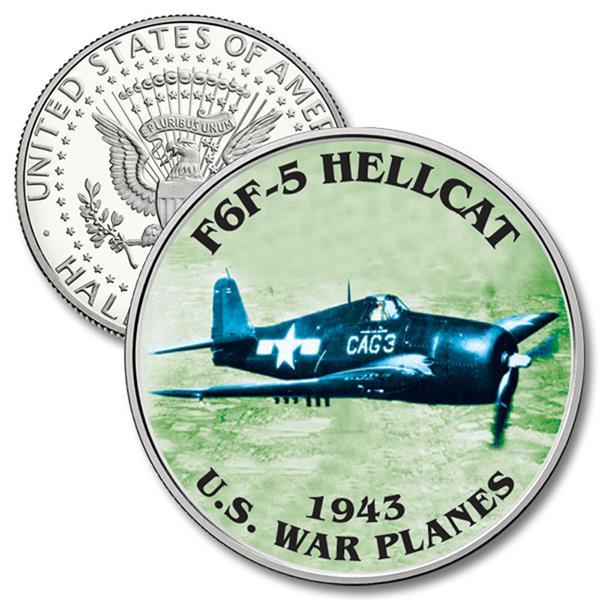 JFK 50c F6F-5 Hellcat