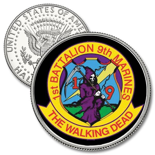 JFK 50c 1st Battalion