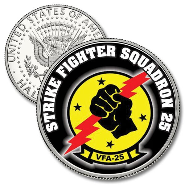 JFK 50c Strike Fighter Squadron 25