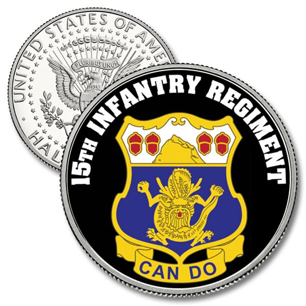 JFK 50c 15th Infantry Regiment