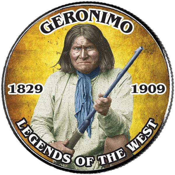 JFK 50c Geronimo
