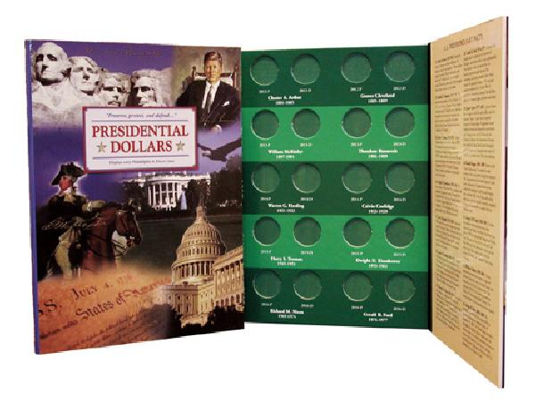 US President Coin Folder Philidelphia and Denver Mint