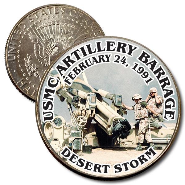 JFK USMC Artillery Barrage